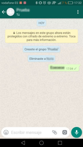 pantalla whatsapp